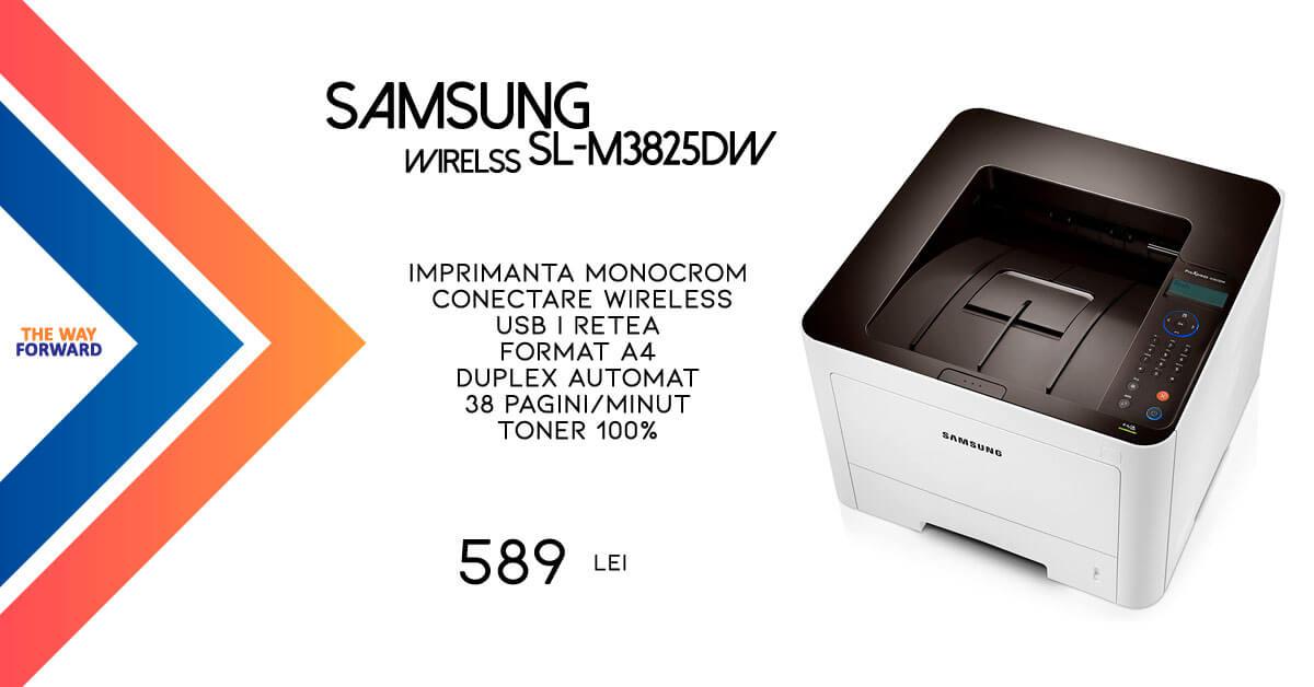 Imprimanta laser monocrom wirelss Samsung