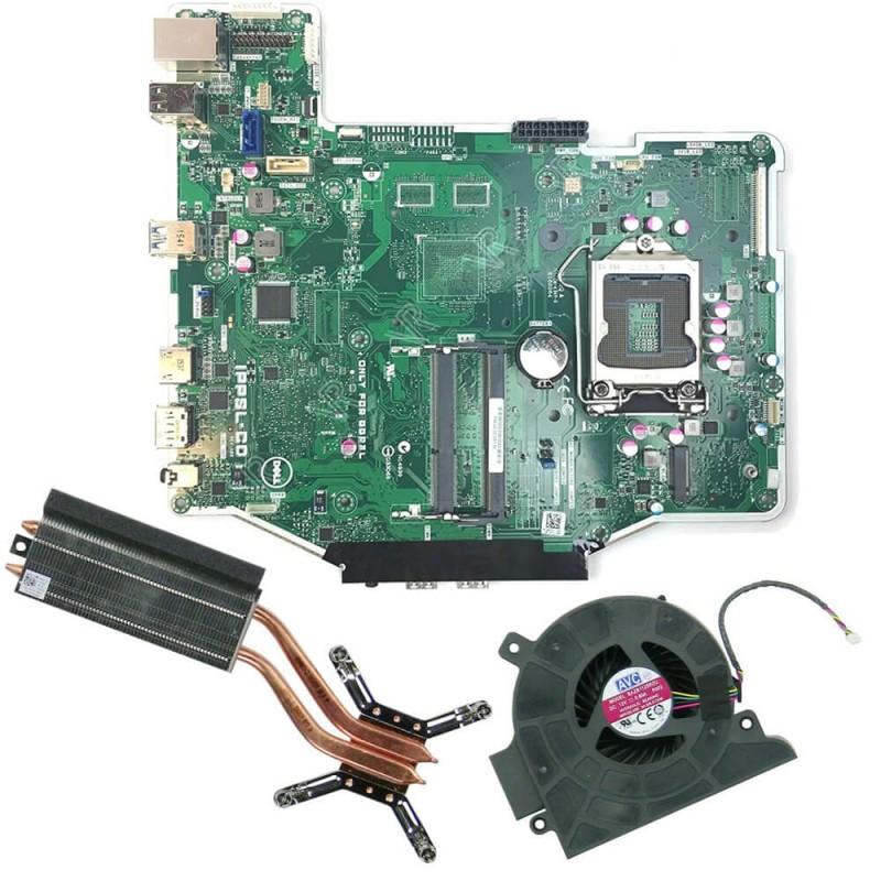 Placa de baza SH AIO Dell OptiPlex 3240 + Radiator, Cooler